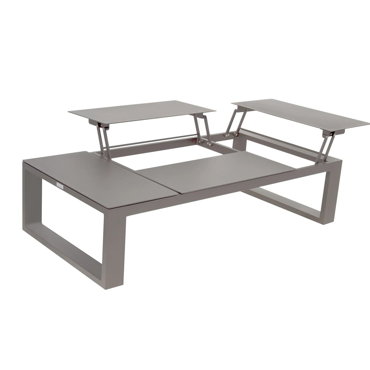 Table Basse Relevable Design Table Basse Avec Plateau Relevable Zendart Outdoor
