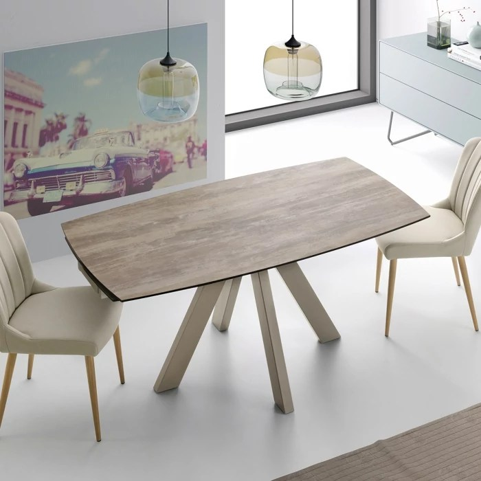 Table 140 Cm Extensible Table Extensible 140 Cm Soja Zendart Selection - Zendart