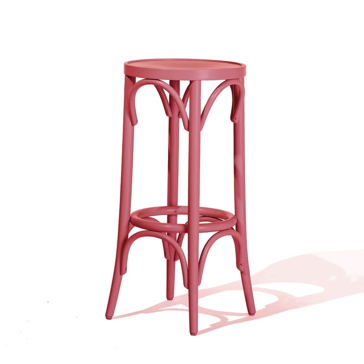 Tabouret De Bar Fushia Tabouret Bar Rose
