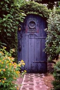 Gartentor Holz
