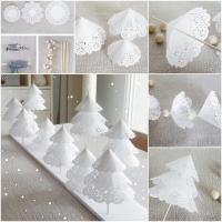 Tisch weihnachtlich dekorieren: 41 Deko- Ideen fr ...