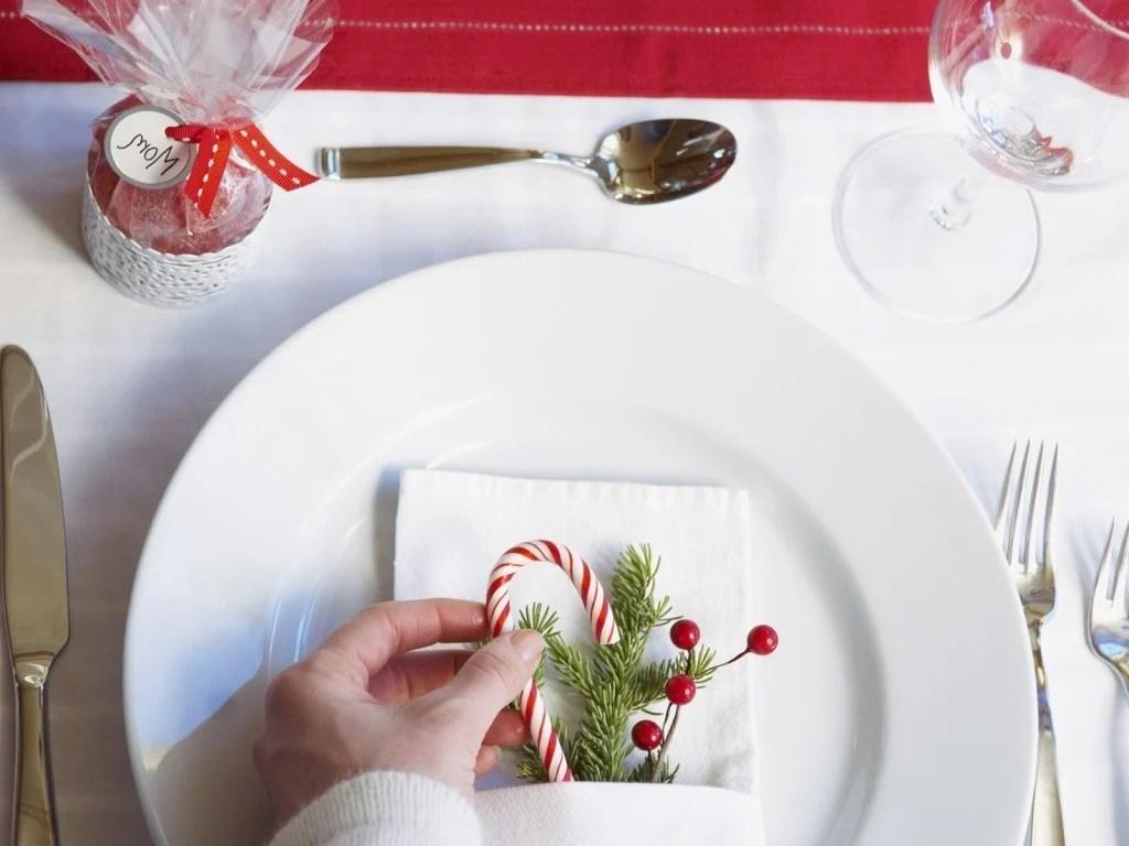 Teller Dekorieren Winterlich Festliche Tischdeko Mit Naturmaterialien