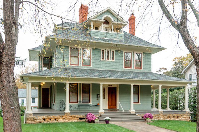 Fassadenfarbe Hellgrün olegoff - fassadenfarbe beispiele