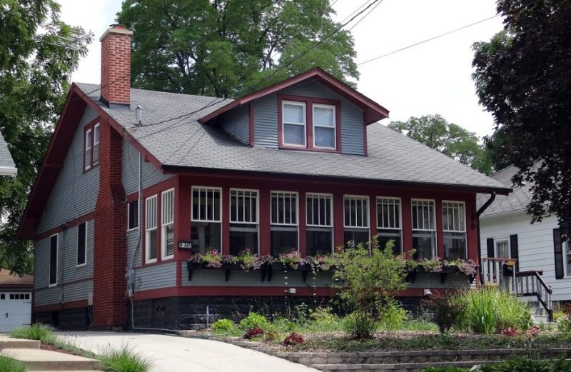 Fassadenfarbe-grau-grun-42 moderne fassadenfarben usauo - fassadenfarbe beispiele