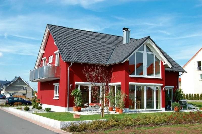 Beispiele für Fassadenfarben - Architektur - ZENIDEEN - fassadenfarbe haus