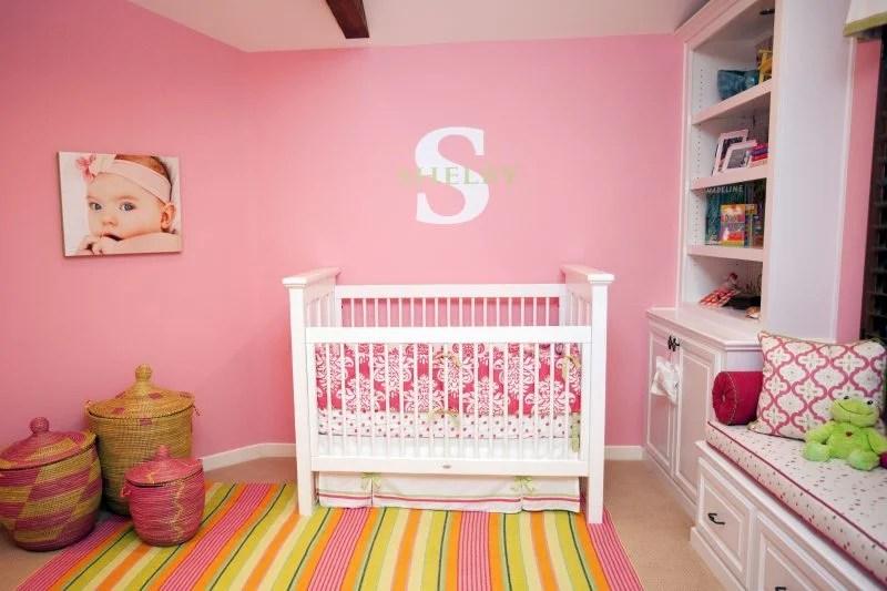 Rosa Babyzimmer | Taube Kinderzimmer Babyzimmer Kinderbett ...
