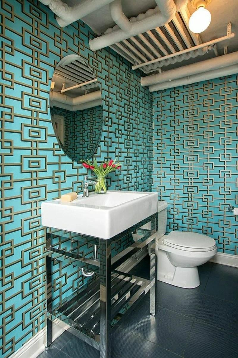 Tapete Gaste Wc Sehr Kleines Badezimmer Ideen Sehr Kleines Gaste