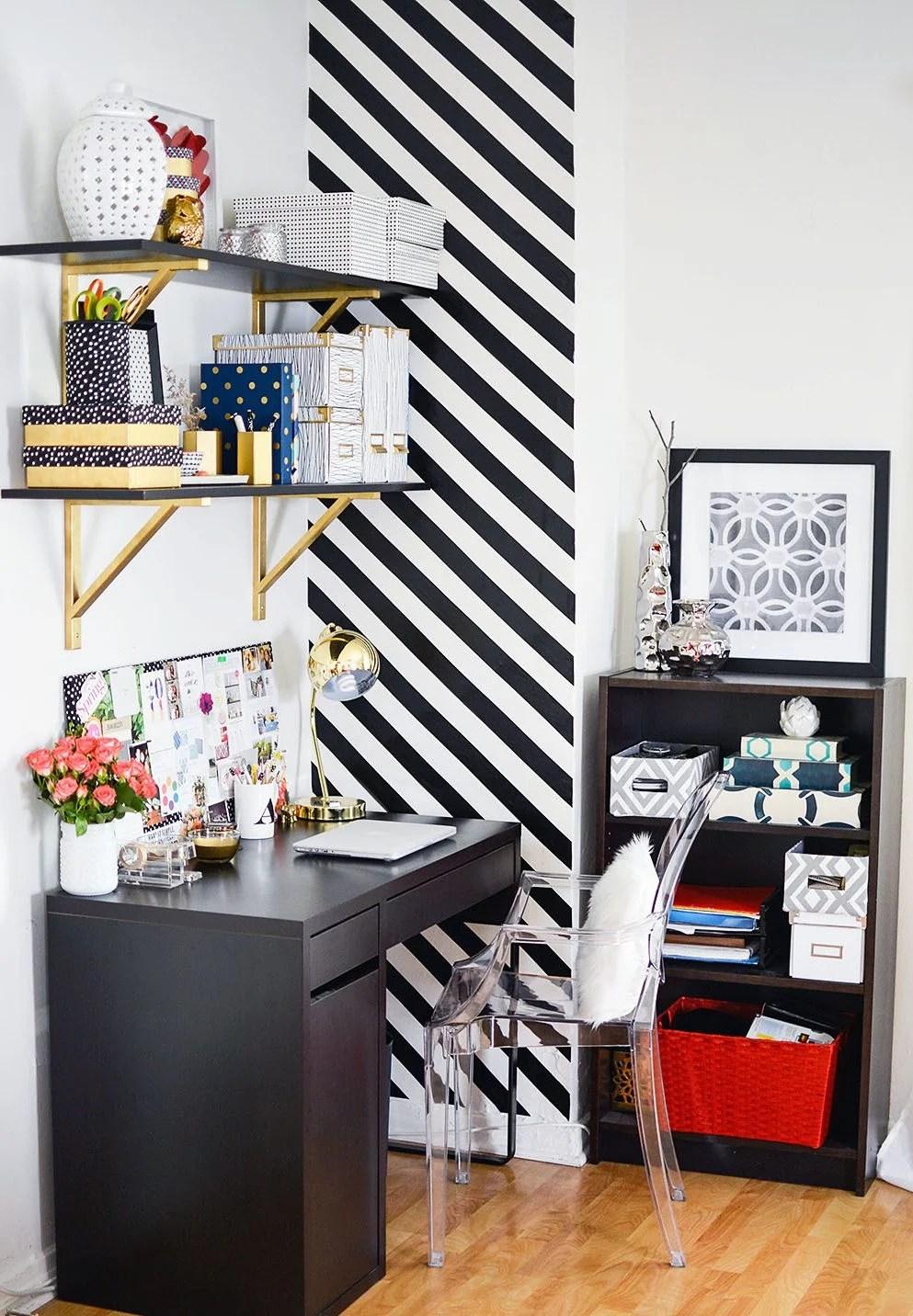 Raumgestaltung Ideen Schwarz Weiß