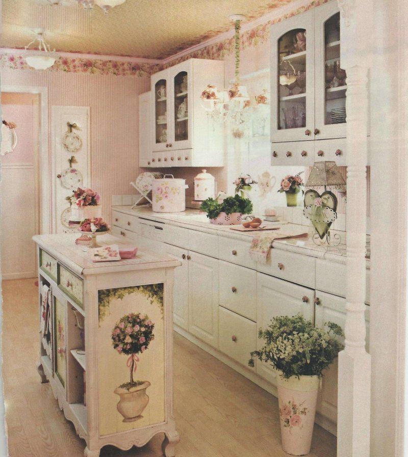 Shabby Chic Küchen