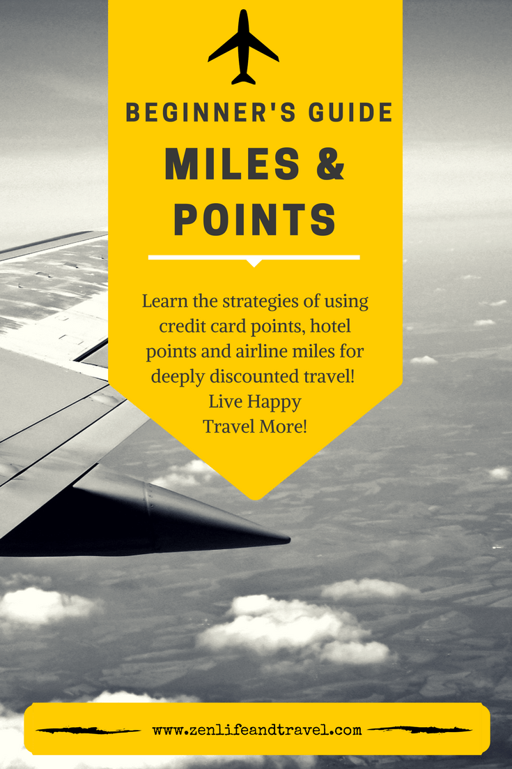 Miles And More Points Beginner S Guide To Miles And Points Zen Life And Travel