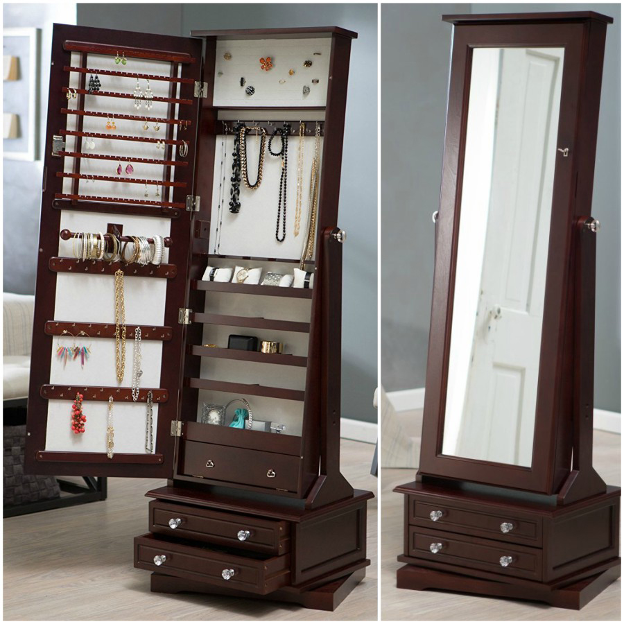 But Armoir Armoire Shadow But Beautify Jewelry Cabinet Armoire Touchscreen