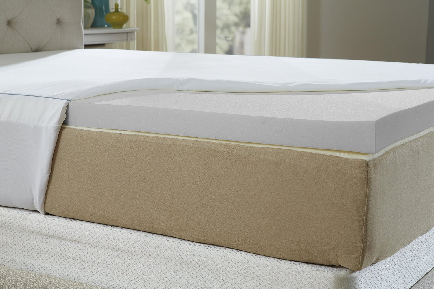 Buy Mattress Topper The Cool Iq 2 5 Inch Memory Foam Topper Smart Buy Zen