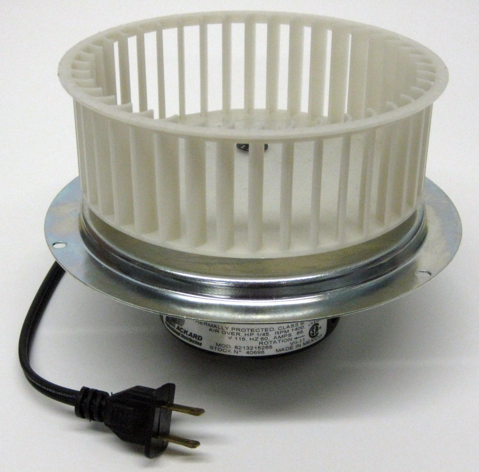 Aardedraad Badkamer 40696 Vent Bath Fan Motor And Blower Wheel For 0696b000