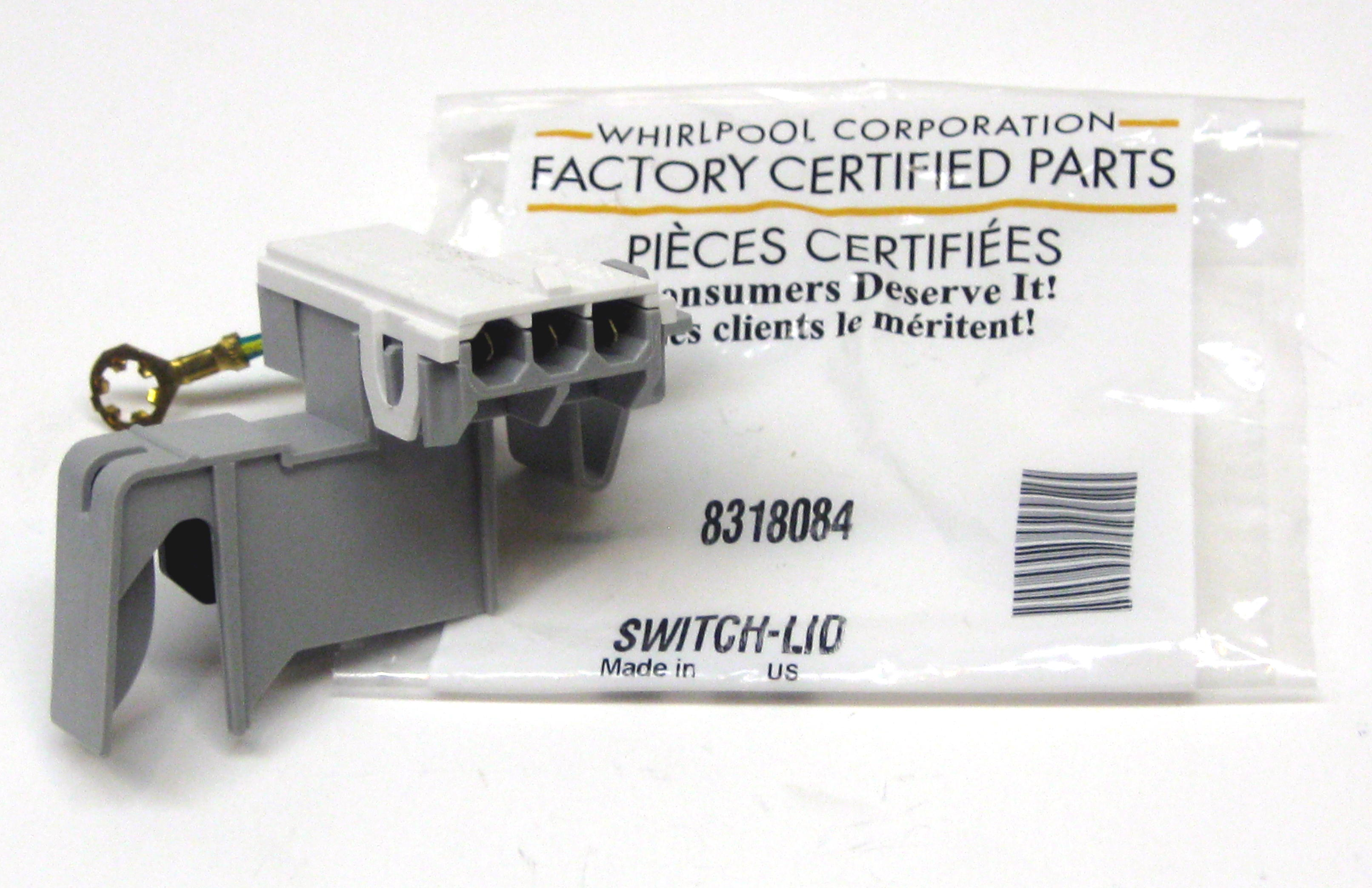 Whirlpool Dishwasher Parts Canada Details About Wp8318084 Oem Whirlpool Kenmore Roper Washer Lid Switch Ap3180933 Ps886960