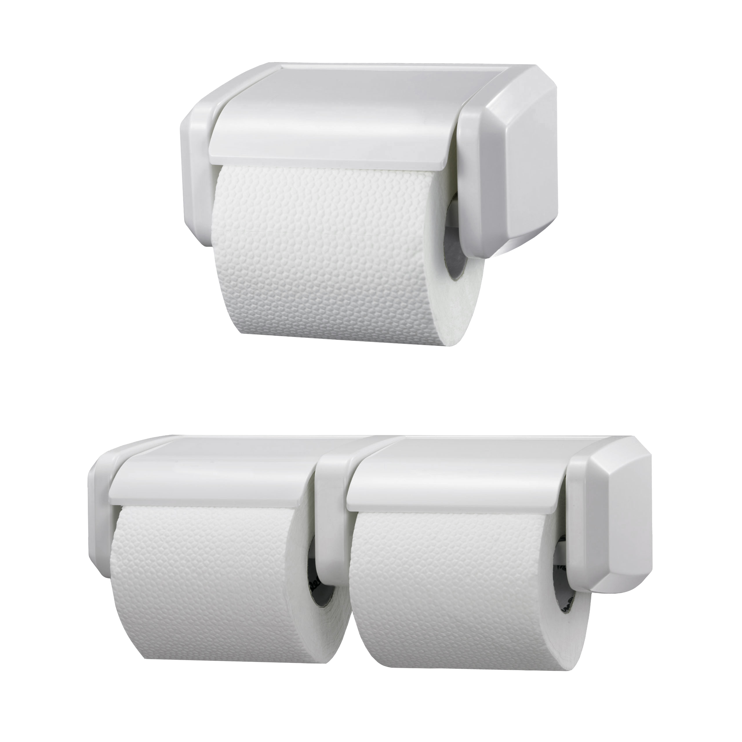 Plastic Toilet Roll Holder Heavy Duty Single Toilet Roll Holder Abs Plastic White