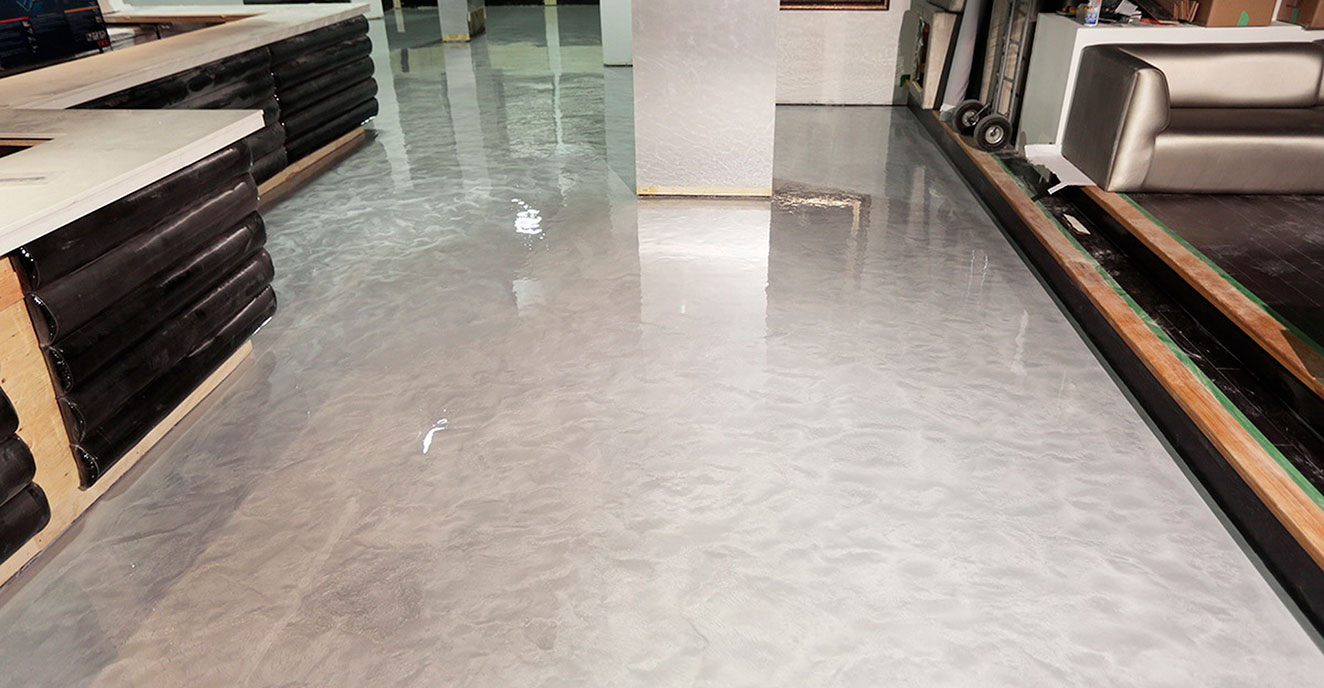 Epoxy Garage Floor Toronto Zeraus 100 Solids Epoxy And Waterborne Coating