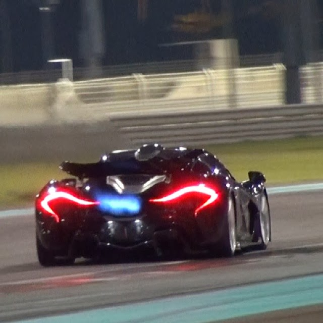 Fastest Car In The World Wallpaper Turns Out The Mclaren P1 Is A Flame Thrower