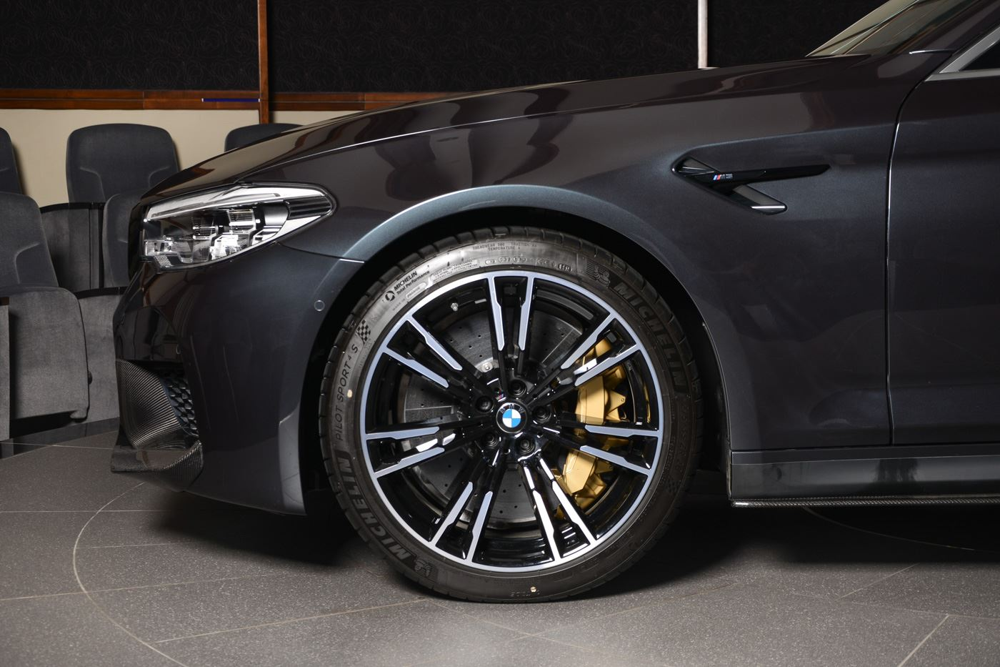 M2 M4 M5 Singapore Grey Bmw M5 Loaded With M Performance Parts