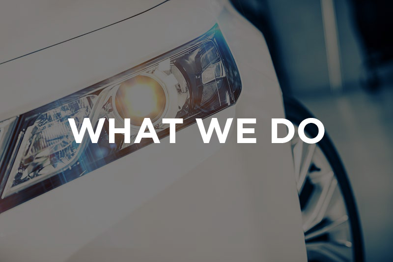what we do image of a car