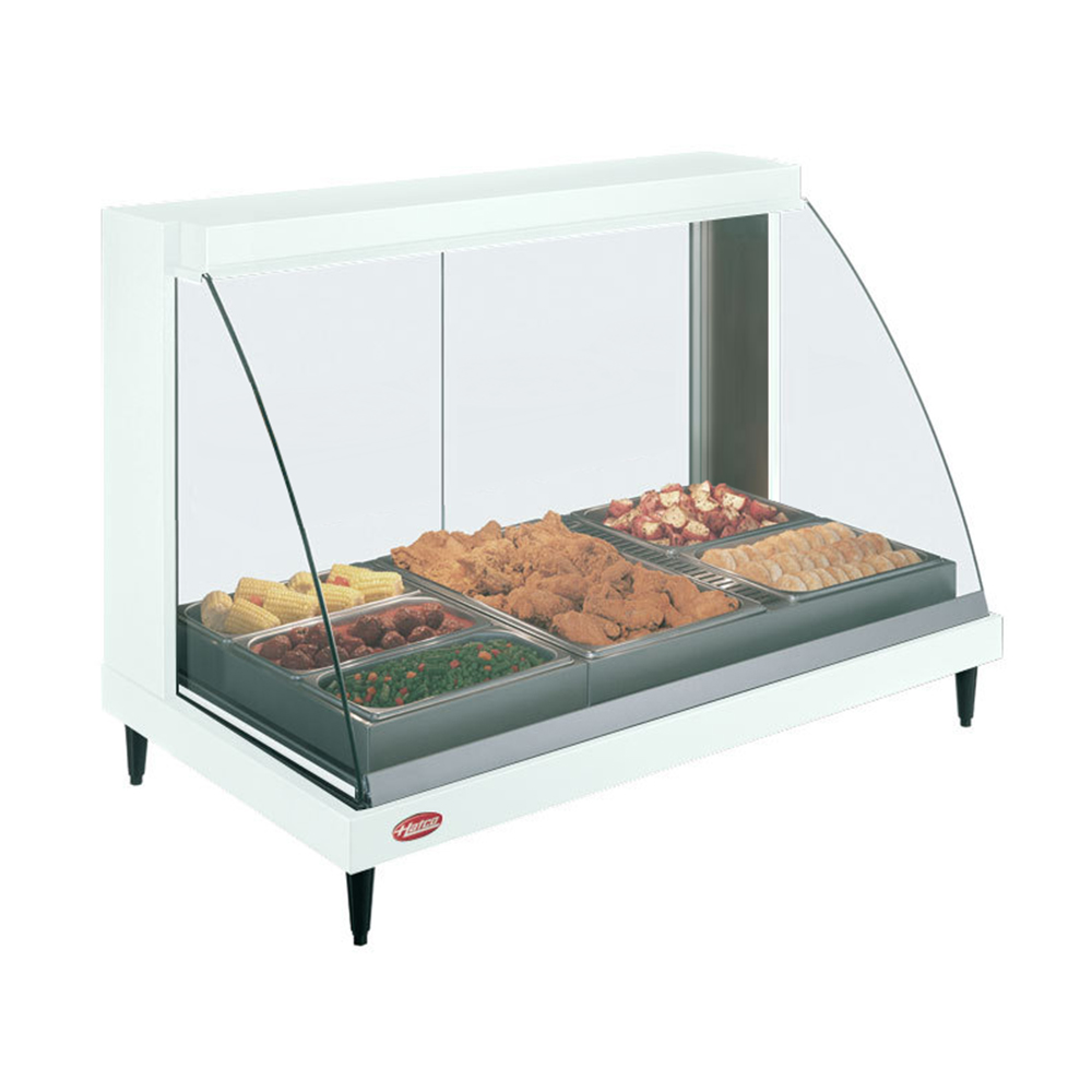 Countertop Food Display Case Hatco Grcd 3pd Heated Display Cabinet Three Pan