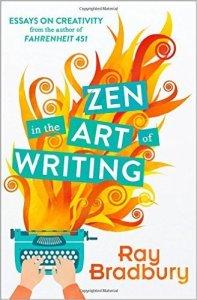 "Portada del libro ""Zen in the Art of Writing"" de Ray Bradbury"