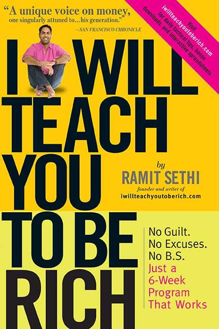 "Portada del libro ""I will teach you to be rich"" de Ramit Sethi"