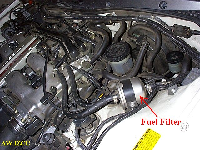 Nissan Frontier Fuel Filter Location circuit diagram template