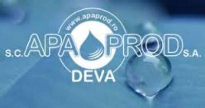 Apa Prod sistează, astăzi, furnizarea apei în Hunedoara
