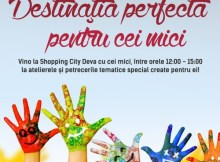 Ateliere_Copii_Shopping City Deva