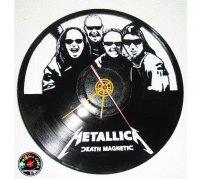 Vinyl Record Clock Handmade Recycled | Vinyl Wall Clock Art
