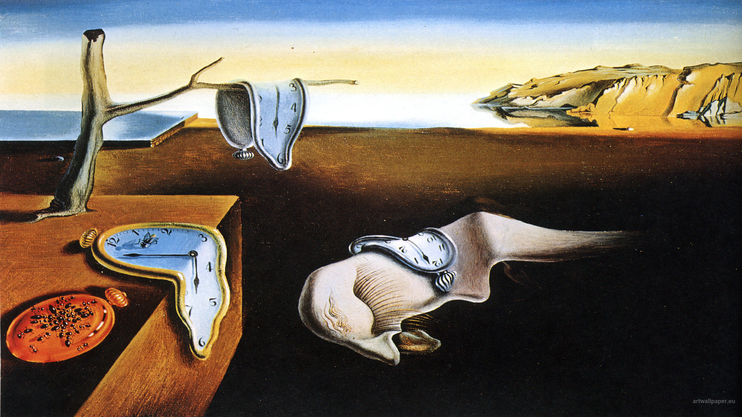 Dali Cuadros A Breakdown Of The The Persistence Of Memory Daydream