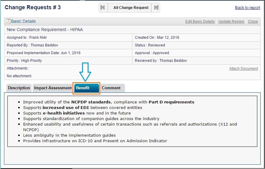 Project Change Request Management Software ZilicusPM