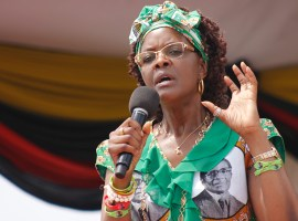 Grace tears into Mnangagwa allies in Manicaland