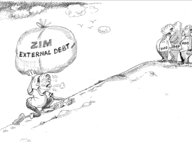 'Zim debt strategy ambitious'