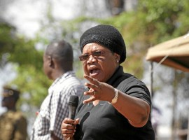 Mujuru fears Harare rally disruption