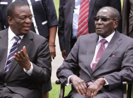 Mugabe shuts door on Mnangagwa