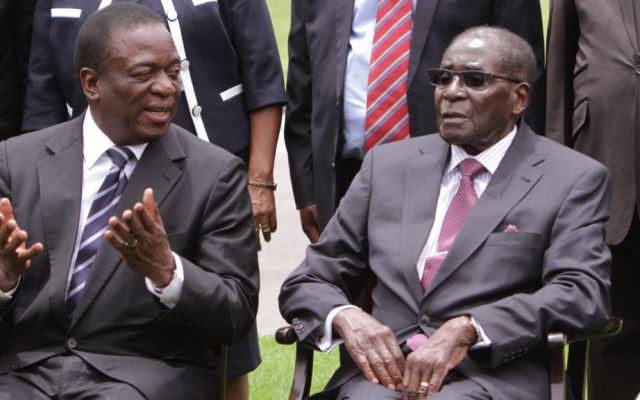 Mugabe shuts door on Mnangagwa