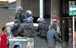 Row over police crackdown
