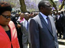 Tsvangirai pushes for Mujuru meet