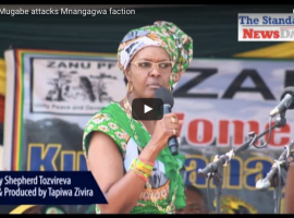 Video: Grace Mugabe attacks Mnangagwa faction