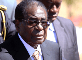 Mugabe 'flies in, flies out' as 'weighty matters' await him in Ethiopia
