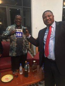 Mugabe succession: Fury over VP Mnangagwa's 'I'm the boss' coffee mug