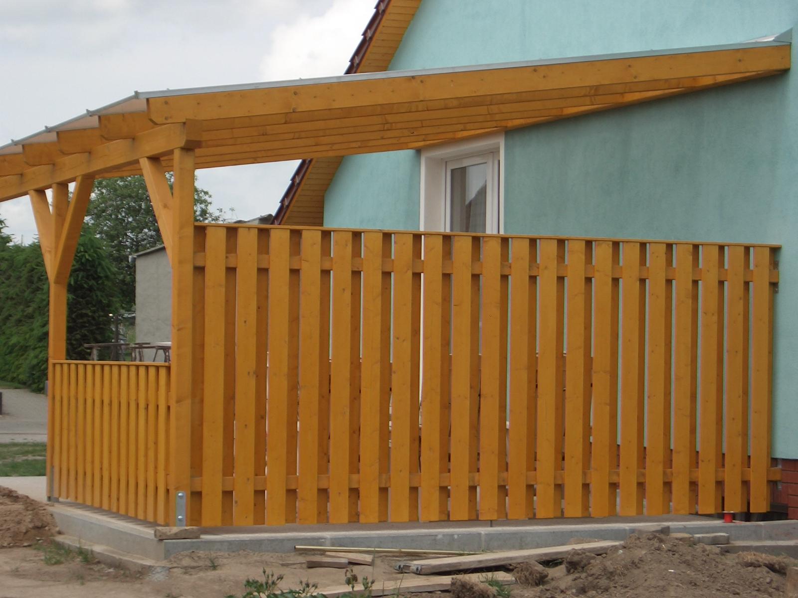 Terrassenuberdachung Satteldach Selber Bauen Carport Selber Bauen