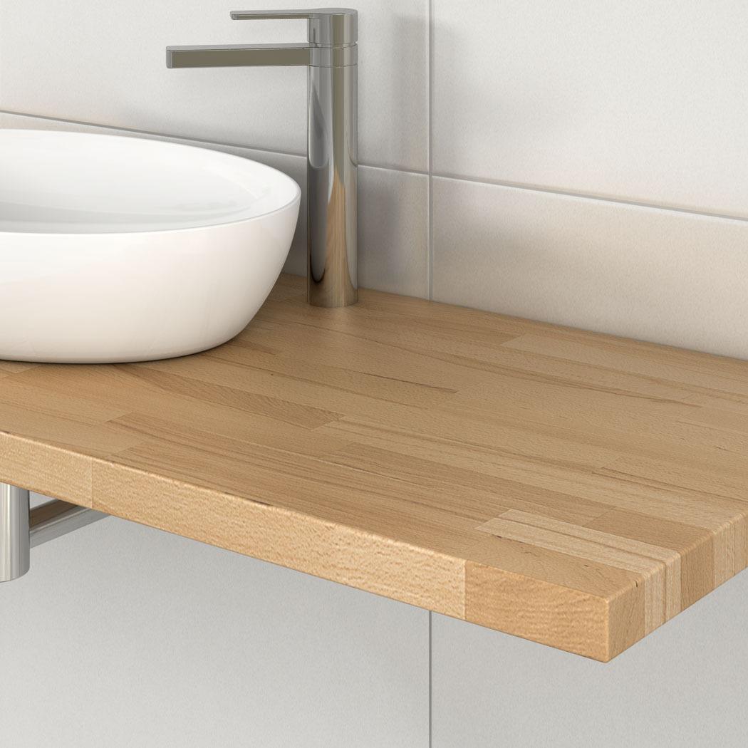 Waschtischplatte massivholz waschtischunterschrank holz eiche waschtischplatte - Waschtischunterschrank massivholz ...