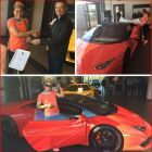 Uebert Angel Buys Wife A Valentines  New Car Pictures