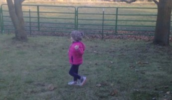 A Mother Filmed Her Daughter Running Through The Yard. Seems Normal, Right? It's Not.