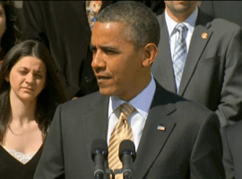 Obama to America: Let's lower gas prices…by redistributing oil subsidies to greenscams!