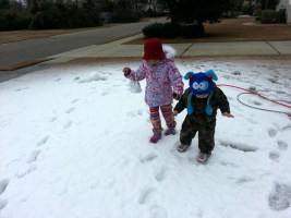 A 3 Year Old Girl Desperately Wanted Snow In The South. So Her Epic Dad Did THIS.
