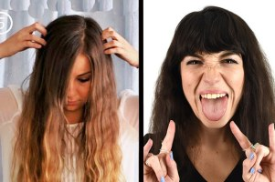 We Tried Out Pinterest Hair Tutorials And This Is What Happened