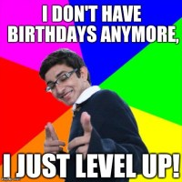 birthday gaming geek